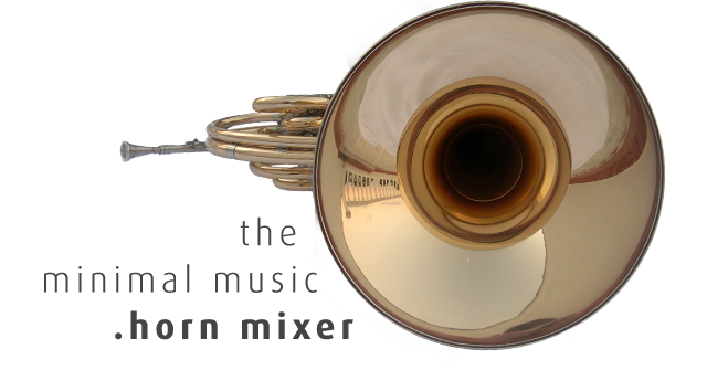 The minimal music french horn sound mixer